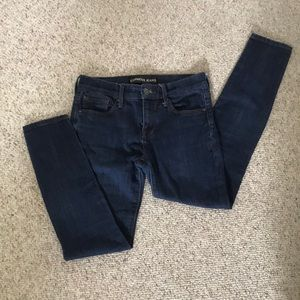 Express Mid-rise Skinny Jeans